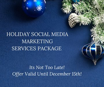 Holiday Social Media Marketing Services Package